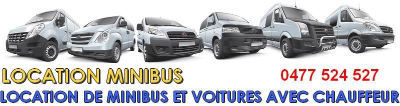 Location minibus namur